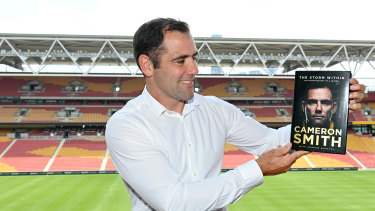 Cameron Smith launches his book in Brisbane this week.