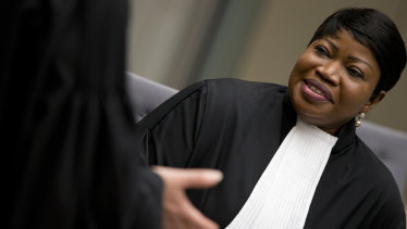 Public Prosecutor Fatou Bensouda of the International Criminal Court in The Hague, Netherlands.