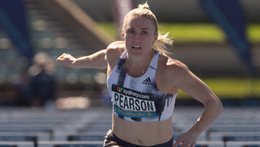 "Sally Pearson said she was ""buggered"" after winning her heat."