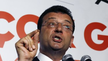 Ekrem Imamoglu won the city of Istanbul for the secular opposition Republican People's Party.