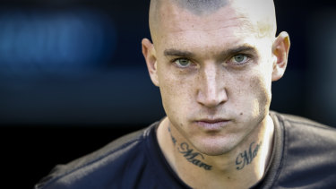 Dustin Martin is headed back to New Zealand to visit his father.