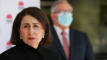 NSW Premier Gladys Berejiklian on Wednesday said she didn't want to lift lockdown too early only to see the city jump between restrictions and no restrictions.