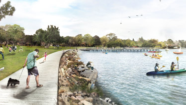 Plans to upgrade sites would encourage more than 750,000 catchment residents to make better use of the river.