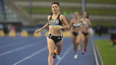 Up and up: Catriona Bisset won after showing rapid improvement in the past 18 months.