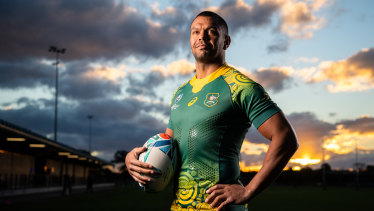 The Wallabies will wear their Indigenous jersey against Uruguay in Oita on Saturday.