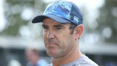 Brad Fittler still has ambitions to return to club football as a head coach.