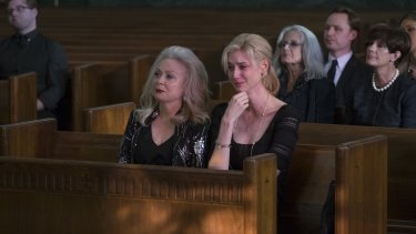 Jacki Weaver and Elizabeth Debicki in Widows.