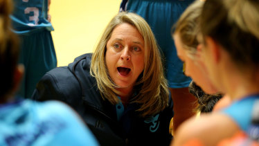 Cheryl Chambers coaches her 250th WNBL game on Sunday.