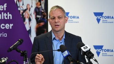 Victoria's Chief Health Officer Brett Sutton.