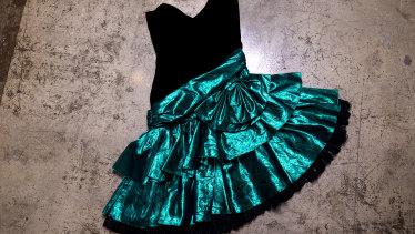 1980s prom dress, $100.