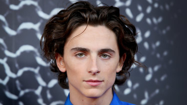 Chalamet at the Sydney premiere of Netflix film, The King.