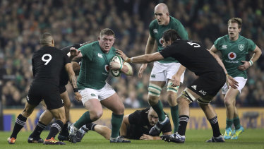 Mouth-watering match ups such as the Ireland vs All Blacks Test could become annual occurrences.