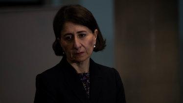 Premier Gladys Berejiklian says the danger is far from over.