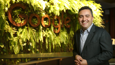 Google Australia and New Zealand managing director Jason Pellegrino
