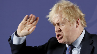 British Prime Minister Boris Johnson must prepare for non-traditional warfare by China and Russia, a new report says.