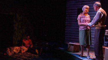 The play encapsulates the couple's ups and downs through the years.