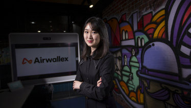 Lucy Liu is a co-founder of Australian tech unicorn Airwallex.