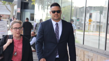 Jarryd Hayne's barrister said the encounter was completely consensual.