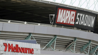 The AFL is working on a deal with Marvel Stadium and tenant clubs.