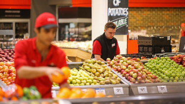 Supermarket staff have complained of cuts to their hours as spending returns to normal.