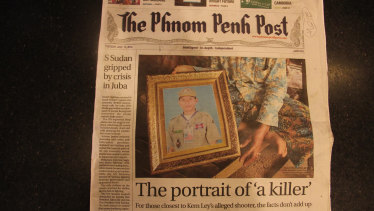The English-language newspaper has been a critic of Cambodia's leader Hun Sen.