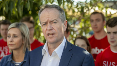 Labor leader Bill Shorten says Australian voters don't want to see companies get big tax cuts.