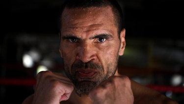 Man behind The Man: Anthony Mundine has been at the top of professional sport in Australia for 25 years.