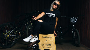 Canberra BMX queen Caroline Buchanan is back to her winning ways and looking to return to the summit.
