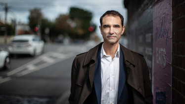 Melbourne City Council's chief resilience officer Toby Kent.