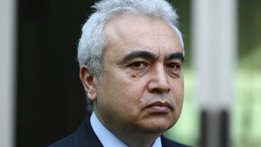 International Energy Agency executive director Dr Fatih Birol.