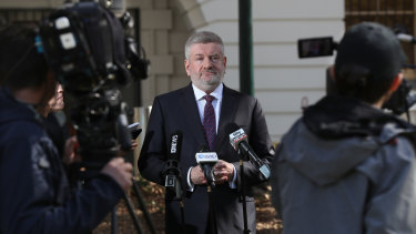 Communications Minister Senator Mitch Fifield has been reassuring the public of his support for the ABC.