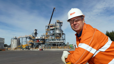 BHP Nickel West's outgoing asset president Eddy Haegel says the electric vehicle era is dawning ahead of expectations.