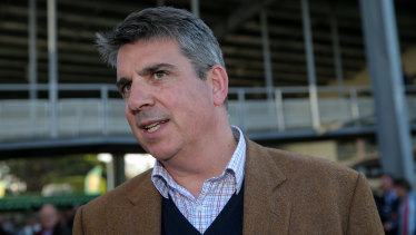 Racing Victoria CEO Giles Thompson.