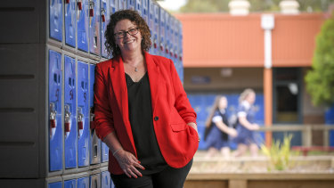 Teacher Michelle Griffiths.