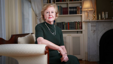 """Wicked game': Gillian Triggs says Labor should vote for the government's lifetime visa ban."