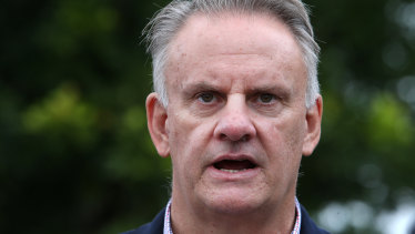 Mark Latham has apologised to Mohamed Nizamdeen over tweets he made last year.
