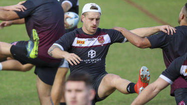 Cameron Munter at fullback will present a fresh challenge for NSW.