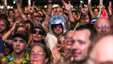 """Bluesfest director Peter Noble said it was """"business as usual"""" for the music festival at Byron Bay, which begins on April 9."""