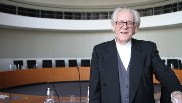 Co-founder and MP of the far-right Alternative for Germany, Martin Renner, in Germany's parliament.