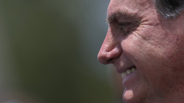 Brazilian President Jair Bolsonaro wants to bring economic development to the Amazon.