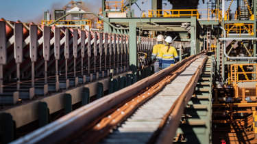Iron ore prices and high demand for Australian mining supplies are winners for the nation.