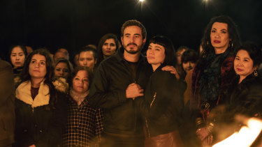 Ryan Corr and Catherine Van-Davies in <i>Hungry Ghosts</i>.