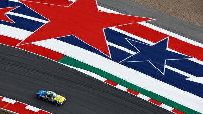 Ricciardo rips laps in Earnhardt's car before Verstappen takes pole in Texas