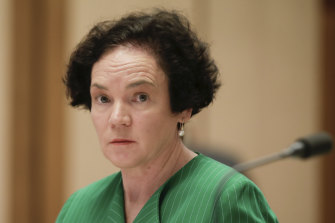 Kathryn Campbell was called to give evidence to the robodebt Senate inquiry multiple times.