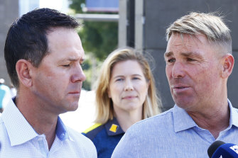 Ricky Ponting and Shane Warne playing golf with two professionals would be a ratings winner.