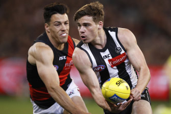 Collingwood forward Josh Thomas would have no problems playing in a quarantine hub, but knows circumstances may be challenging for other players.