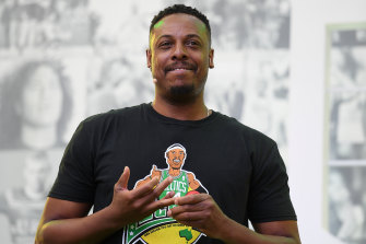 NBA great Paul Pierce says the All-Star game should go global.