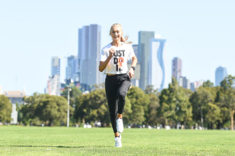 Jessica Hull is ready to show her style at the Melbourne Track Classic on Thursday night.