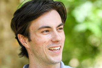 James Mitchell plans to pursue a career in artificial intelligence.