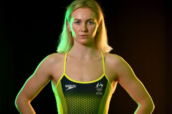 Ariarne Titmus ... The not yet recognisable but new face of Australian swimming.